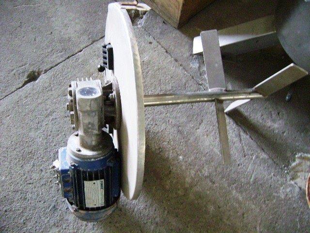 Agitador inox usado