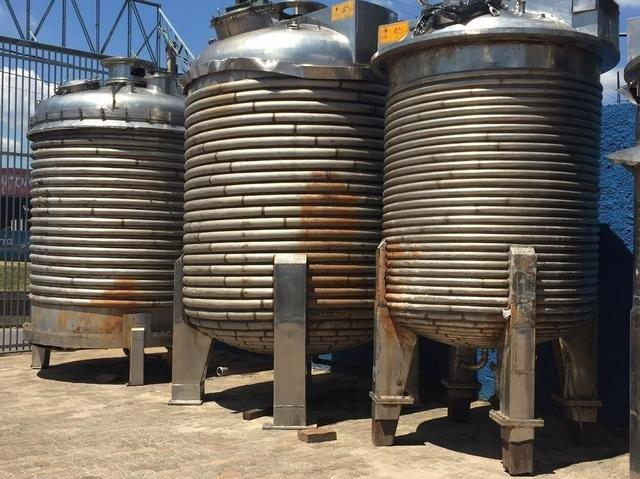Reatores aço inox usados