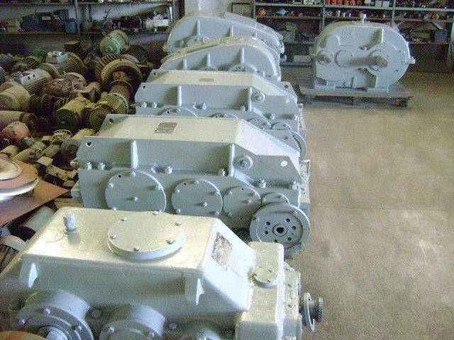 Redutores de velocidade industrial usados