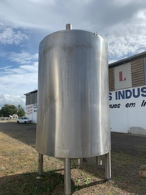Tanque industrial de inox preço