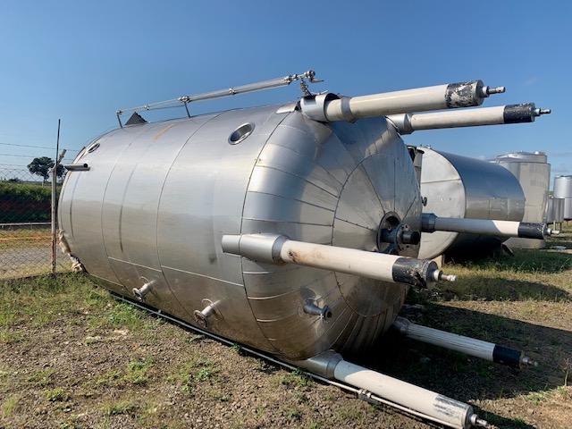 Tanque inox industrial