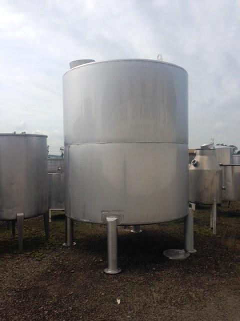Tanque de inox industrial 10000 litros