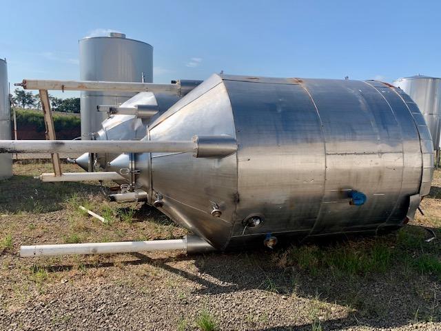 Tanque inox usado