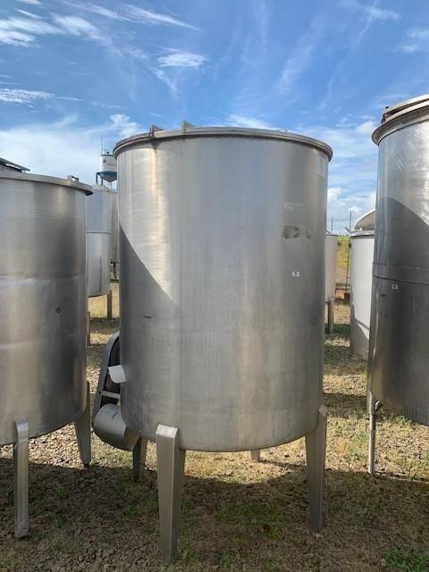 Tanque misturador inox 1000 litros