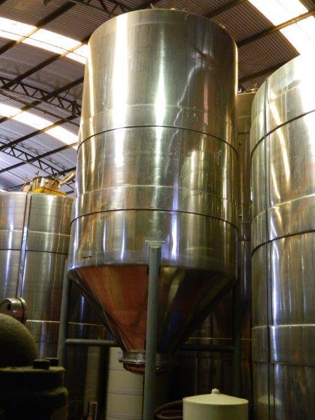 Tanques inox para cervejaria