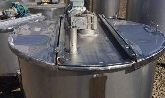 Tanque de inox usado 1000 litros
